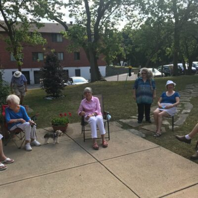 Report to the parish meeting, August 29